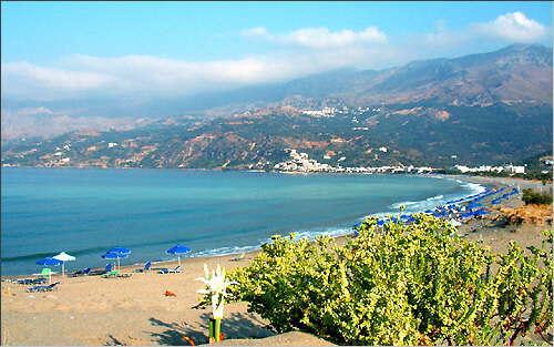 Plakias: Blick über die Bucht